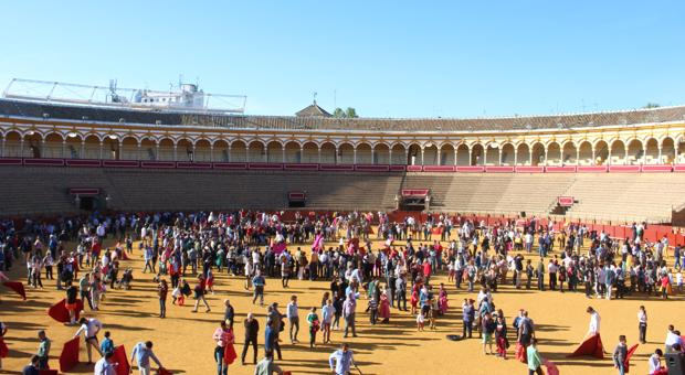 Jornada de puertas abiertas en la Real Maestranza de Sevilla