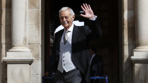 Eduardo Mendoza, al llegar a Alcalá de Henares