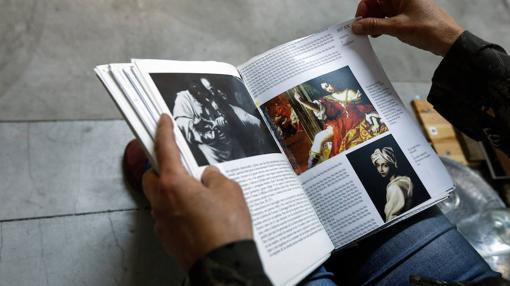 Detalle del libro de Gombrich que Gimeno intervino en el pasado