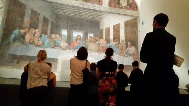 «La última cena», de Da Vinci