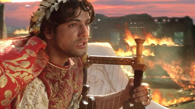 Giorgio Adamo interpreta a Nerón