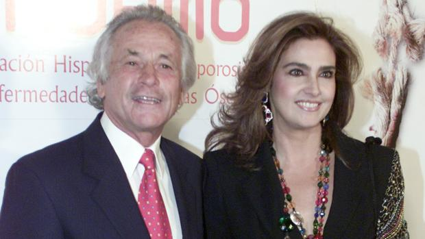 Palomo Linares y Marina Danko, cuando aún estaban casados