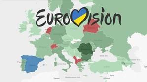 Así funciona el «voto político» en el festival de Eurovisión