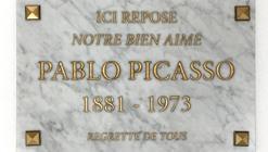 Falsa lápida de Picasso