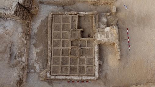 El jardín funerario tendría casi 4.000 años de antigüedad