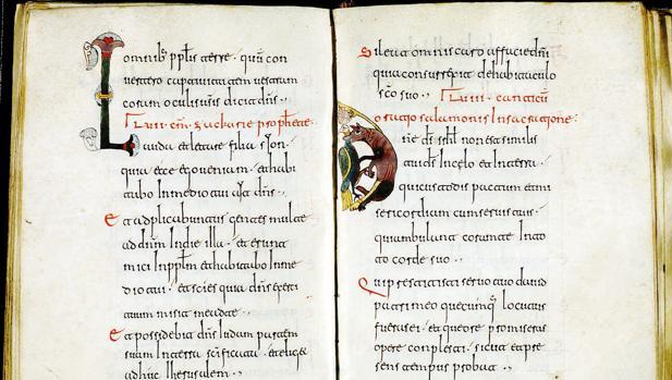 Manuscrito del siglo XI del «Liber Canticorum et horarum» Siglo XI