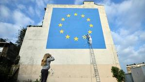 El último mural atribuido al artista callejero en la ciudad británica de Dover