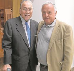Victoriano Valencia y Gonzalo Santonja