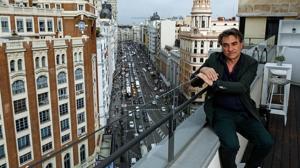 Jordi Colomer, fotografiado en Madrid, donde presentó hace unos días su proyecto veneciano