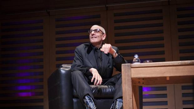 David Rieff durante una intervención en el Hay Festival de Xalapa, México