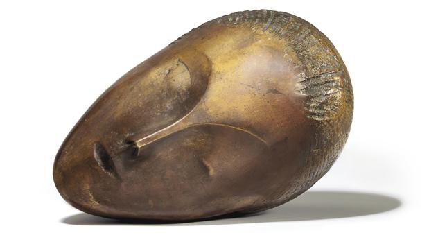«La Muse Endormie», de Brancusi