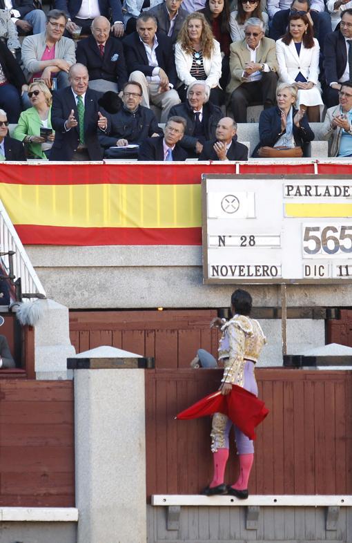 Brindis de Iván Fandiño a Don Juan Carlos