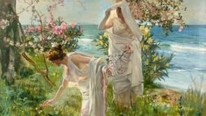 Muestra de «Muchachas griegas en la orilla»