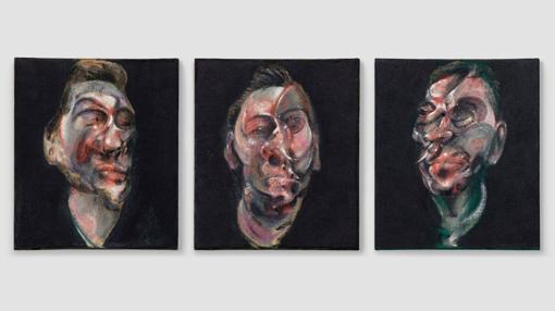 «Three Studies for a portrait of George Dyer», de Francis Bacon
