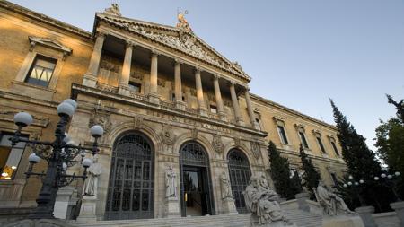 Exterior de la Biblioteca Nacional de España