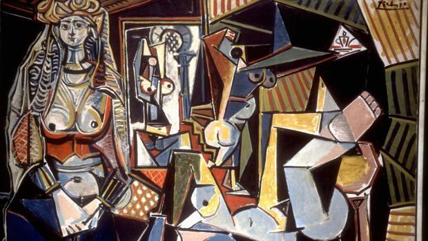 Detalle de «Las mujeres de Argel», de Pablo Picasso