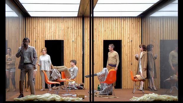 Una escena de «Refugio»