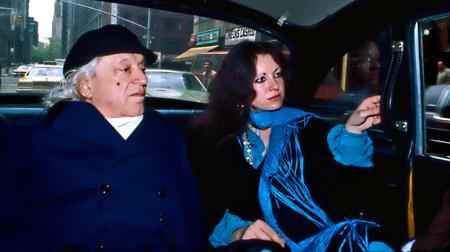 Rafael Alberti, junto a su pareja Beatriz Amposta