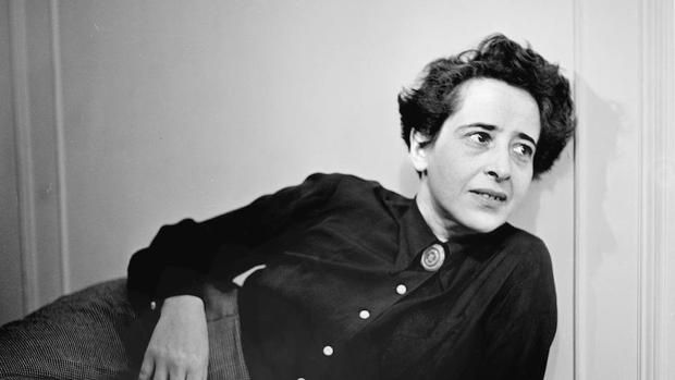 La filósofa Hannah Arendt