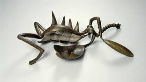 «Mujer con la garganta cortada» (1932), de Giacometti
