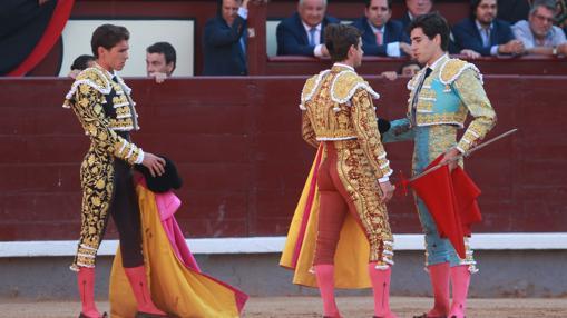 El Juli ejerció de padrino de confirmación tanto de Álvaro Lorenzo como de Ginés Marín
