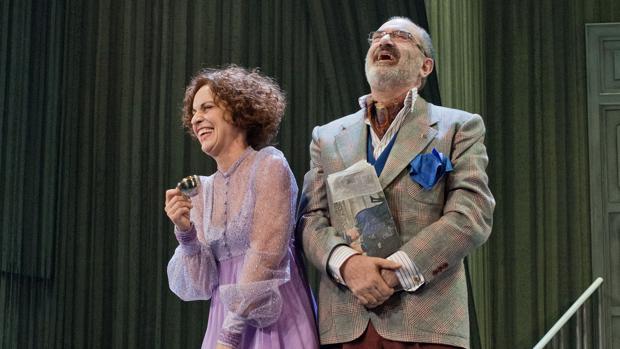 Adriana Ozores y Joaquín Climent