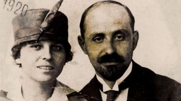 Zenobia y Juan Ramón