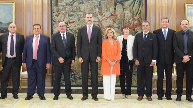 El Rey ha recibido en audiencia a la Federación de Gremios de Editores de España