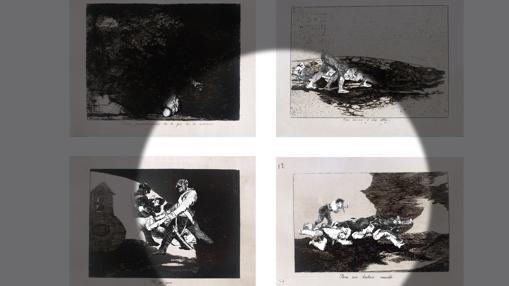Detalle de la videoinstalación de la artista iraní