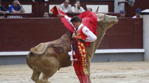 Diego Carretero, por bernadinas al quinto