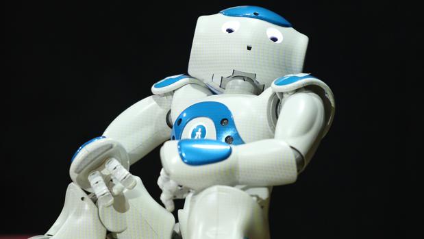 Robot humanoide presentado en una reciente conferencia sobre inteligencia artificial en Sevilla