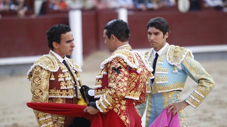 Ceremonia de confirmación de alternativa de Joaquín Galdós