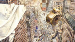 Ilustración de «Armstrong. El increíble viaje de un ratón a la luna» (Juventud)