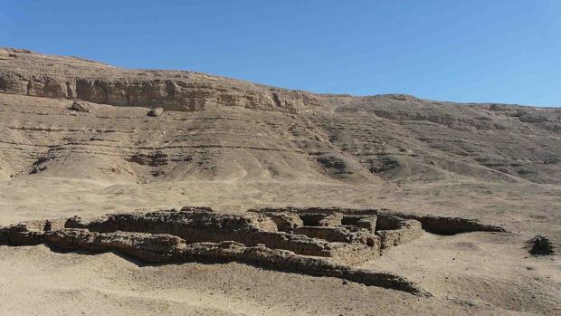 Construcciones en Amarna