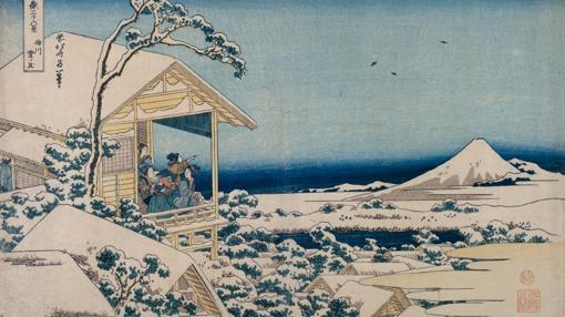 Otra de las pinturas de Hokusai