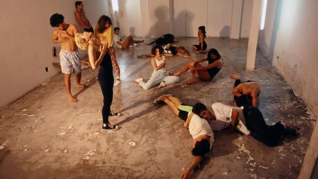 Seminario de «performance» impartido por Pedro Garhel en Espacio P
