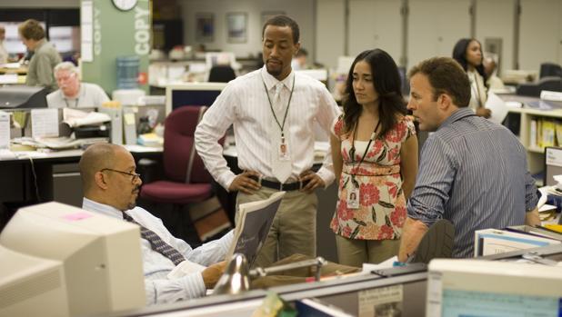 David Simon trabajó durante años en «The Baltimore Sun», uno de los escenarios capitales de la serie