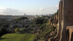 Vista del Palatino romano