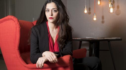 La periodista española Alexandra Gil