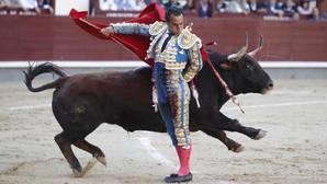 Ivan Fandiño en Las Ventas