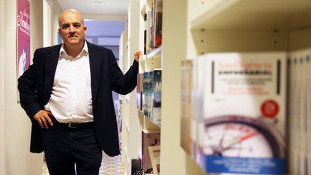 Jordi Nadal, autor de «Libroterapia»