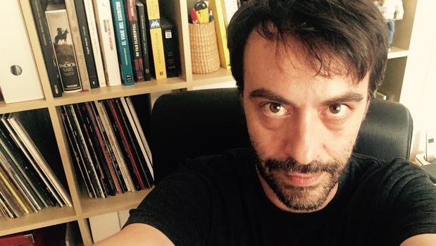 El «selfie» que Agustín Martínez dedica a ABC Cultural