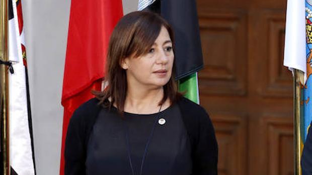 La presidenta del Gobierno balear, la socialista Francina Armengol