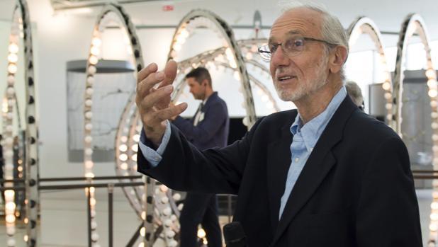 El arquitecto italiano Renzo Piano, en el Centro Botín en Santander