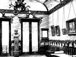Interior del palacio de San Bernardo