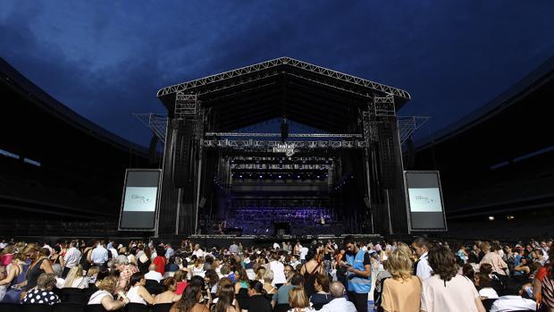 Un reciente concierto en Sevilla