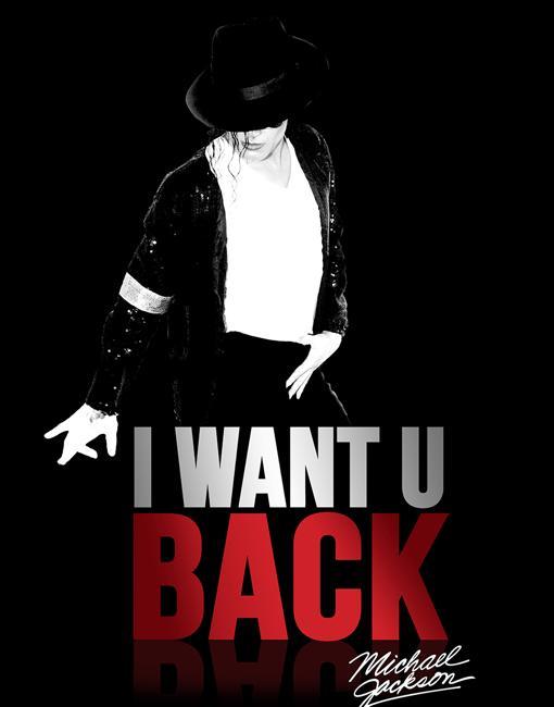 Cartel de promoción de la obra «I Want U Black», en el Teatro Calderón