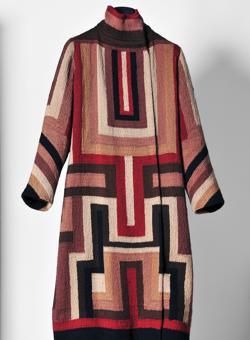 Abrigo para Gloria Swanson, hacia 1925