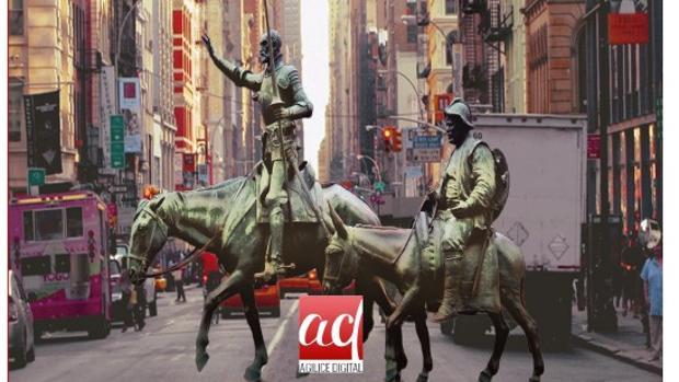 Imagen que ilustra la cubierta de «Don Quixote of La Mancha»