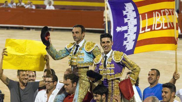 Ponce y Talavante, el pasado año en Palma de Mallorca
